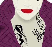 Joker Silhouette - Jared Sticker
