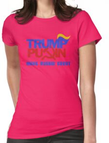 Trump Putin 2016 - Make Russia Great Again Womens Fitted T-Shirt