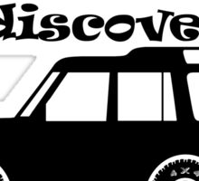 Discovery - Beautiful Paths Sticker