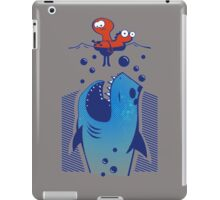 Funny Jaws Eat Snail iPad Case/Skin