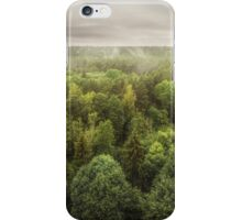 Pinewood after rain iPhone Case/Skin