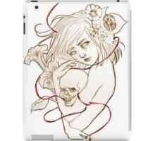 red string iPad Case/Skin