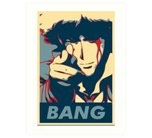 Bang - Spike Spiegel Art Print