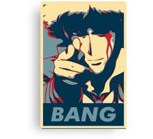 Bang - Spike Spiegel Canvas Print