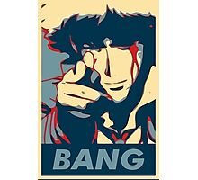 Bang - Spike Spiegel Photographic Print