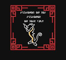 Dishonor on you cow! Women's Fitted Scoop T-Shirt