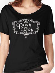 Posh Boy Records t shirt Women's Relaxed Fit T-Shirt