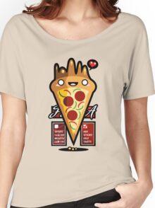 Kawaii Pizza Women's Relaxed Fit T-Shirt