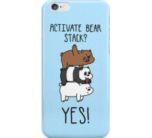 Bearstack!  iPhone Case/Skin