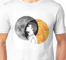 Sun's Blood On My Hands (I'll tell the moon) Unisex T-Shirt