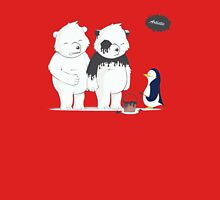 Penguin Become To Panda Unisex T-Shirt