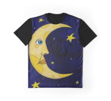 Moon, Shine Over Me Graphic T-Shirt
