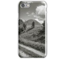Road by the hill iPhone Case/Skin