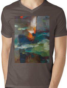 fire Mens V-Neck T-Shirt