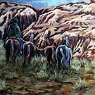 Going Home Through The Canyon by Susan Bergstrom