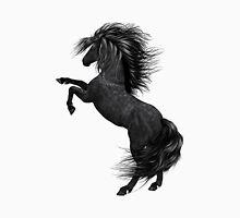 Black Horse in Art Unisex T-Shirt