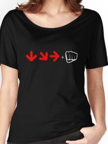 Street Fighter Combo T-shirt Women's Relaxed Fit T-Shirt