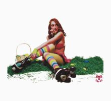 Roller Derby Bunny by HisRuin