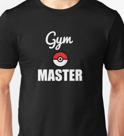 GYM MASTER T-SHIRT POKEMON Unisex T-Shirt