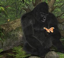 Gorilla and the Moth by Ken Gilliland