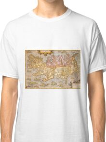 Vintage Map of Iceland (1590) Classic T-Shirt