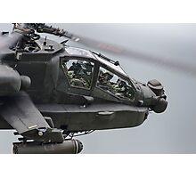Boeing AH-64 Apache Gunship Photographic Print