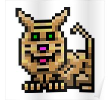8bit Homely Video Game Pet Poster