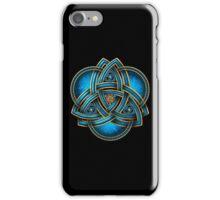 Blue Celtic Triquetra iPhone Case/Skin