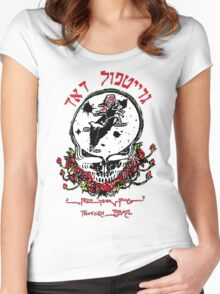 The Original Dead From Israel Women's Fitted Scoop T-Shirt