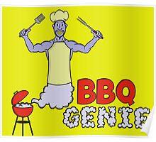 BBQ Genie Poster