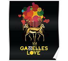 Gazelles Love Poster