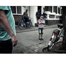 Confrontation Photographic Print