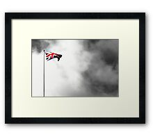 Union flag (photoshop) Framed Print