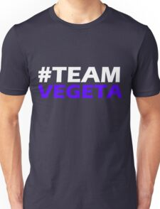 TEAM VEGETA DRAGONBALL Z T-SHIRT Unisex T-Shirt