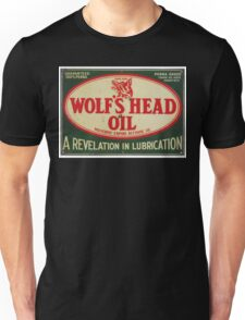 Vintage Motor Oil sign Unisex T-Shirt
