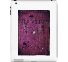 The Valiant iPad Case/Skin