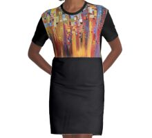 Downtown Dress Graphic T-Shirt Dress