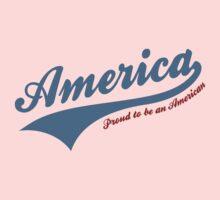 America Proud To Be American Kids Tee