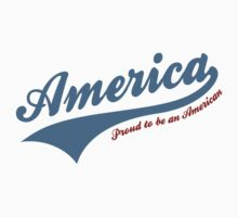America Proud To Be American One Piece - Short Sleeve