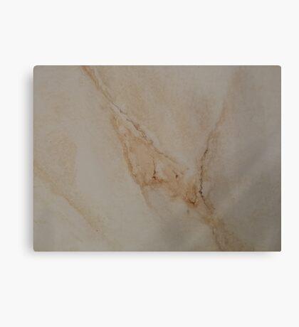 Faux Marble Canvas Print