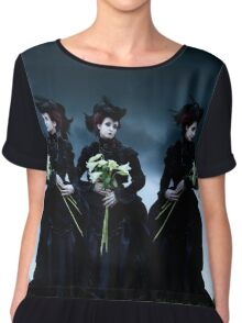 Mourning Chiffon Top