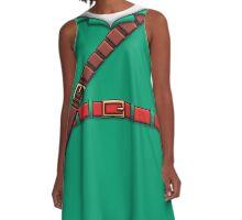 Link T-Shirt (The Legend of Zelda) A-Line Dress