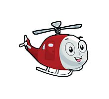 Baby Helicopter Photographic Print