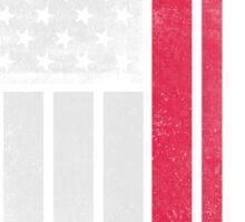 Polish American Flag - Half Polish Half American Sticker