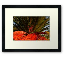 Plant It Red Framed Print