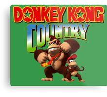Donkey Kong Country Metal Print