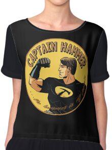 capt hammer Chiffon Top
