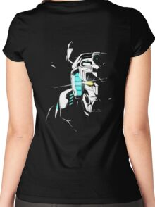 Voltron Shadowed Face Women's Fitted Scoop T-Shirt