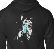 Voltron Shadowed Face Zipped Hoodie