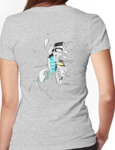 Voltron Shadowed Face Womens Fitted T-Shirt